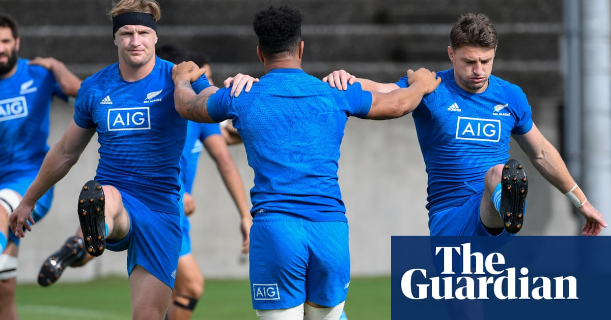 Barrett brothers to make history with all three to start for All Blacks