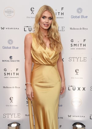Lady Kitty Spencer at the Dorchester in London