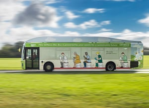 The GENeco Bio-Bus, aka the poo bus