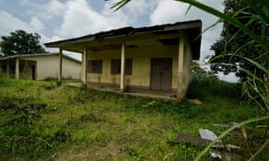 An abandoned school building in anglophone Cameroon.