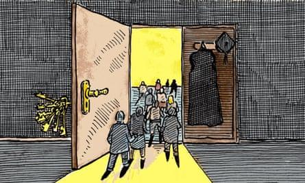 Illustration by Andrzej Krauze.