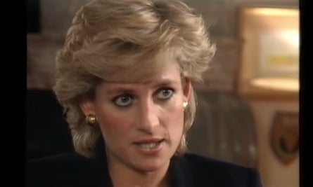 The BBC interview with the Princess Diana broadcast in November 1995.