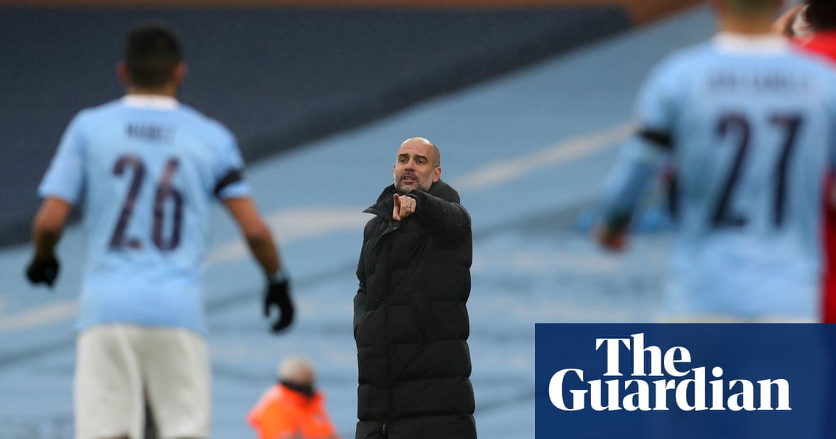 Manchester Citys improvement down to less running, says Guardiola