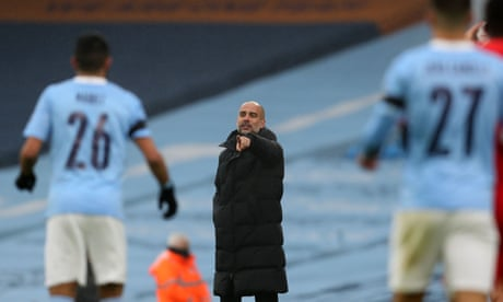 Manchester City's improvement down to less running, says Guardiola
