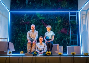 Mark Bonnar, Brian Vernel and Jane Horrocks in Instructions For Correct Assembly