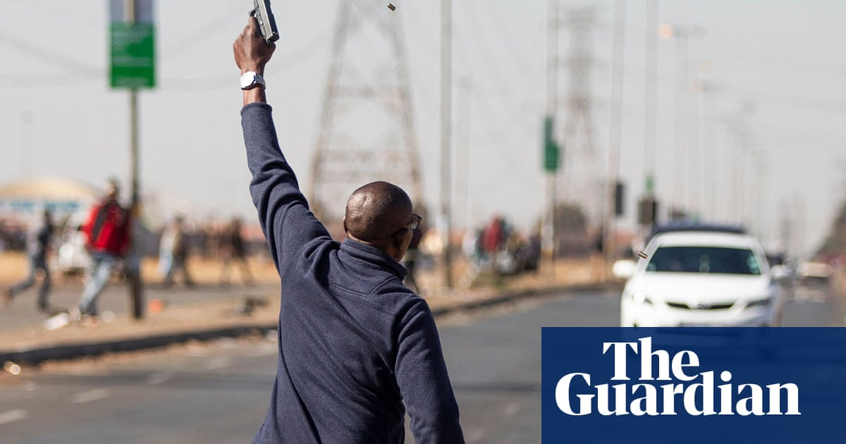 Vigilante groups form in South Africa to tackle looting and violence