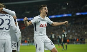 Harry Winks is pretty chuffed too.