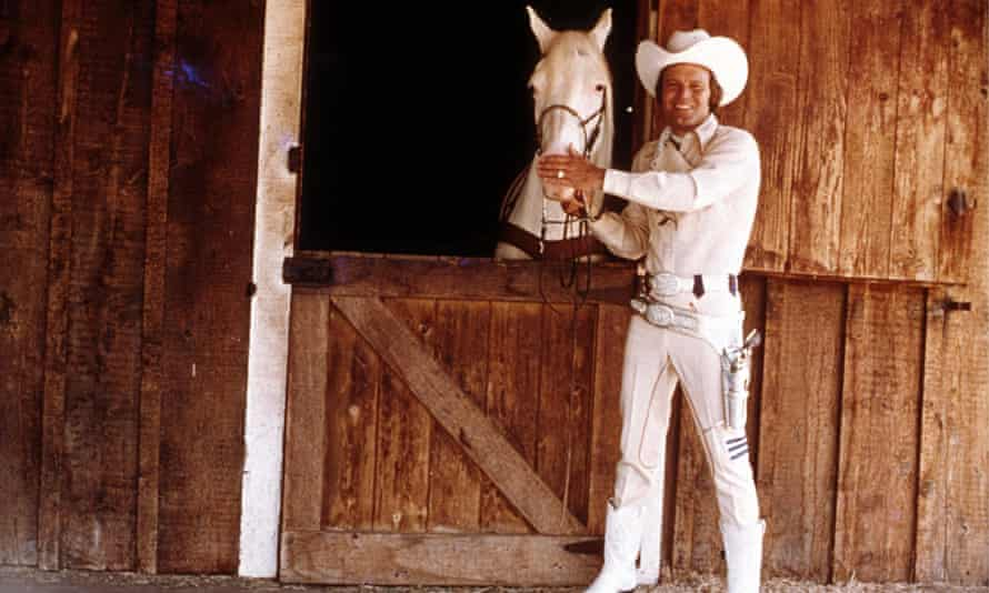 Glen Campbell … Riding out on a horse in a star-spangled rodeo.
