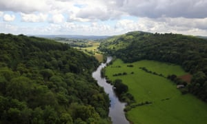One of the views that so excited Gilpin - from Symonds Yat rock.