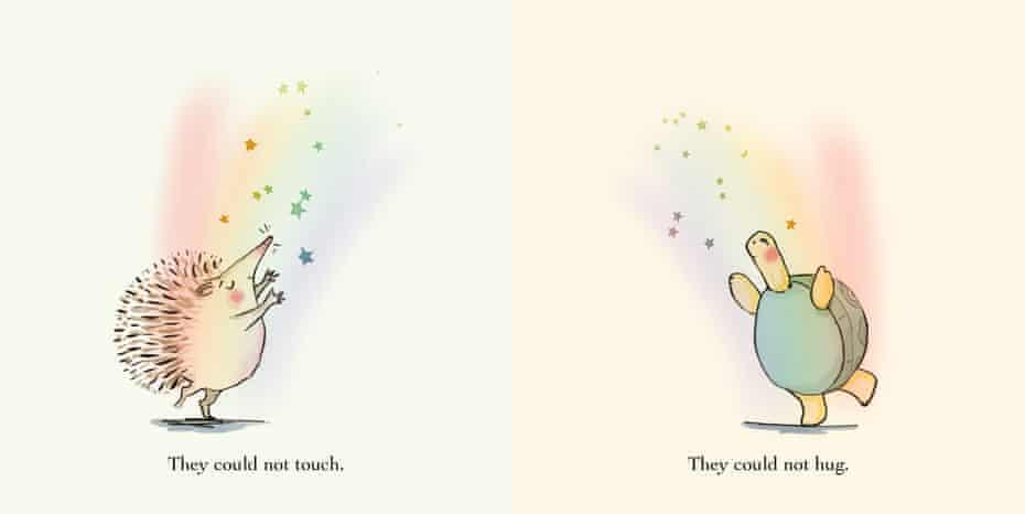 While We Can't Hug by Eoin McLaughlin and Polly Dunbar
