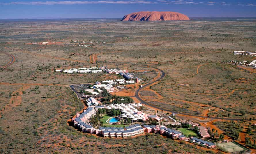 Ayers Rock Resort, which has installed solar panels to capitalise on the desert heat