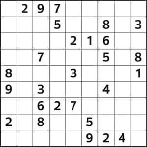 Observer Sudoku 13/10