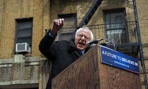 Bernie Sanders in Brooklyn