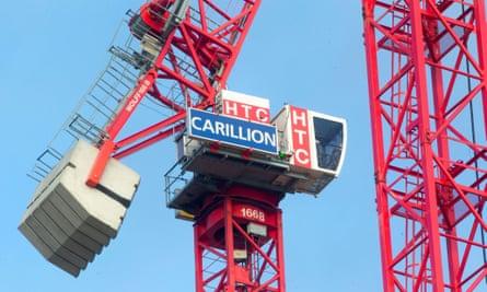 A Carillion crane.