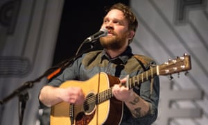 'I think anthemic-misery-indie is Scotland's greatest export': Scott Hutchison in concert at Kentish Town Forum, London, 2013.