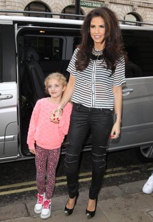 Katie Price and daughter Princess