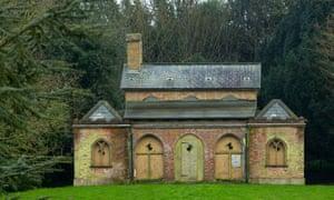 Cobham Dairy, pre-restoration by the Landmark Trust, in Kent, UK.