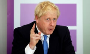 Boris Johnson speaks at a meeting of the National Policing Board in London