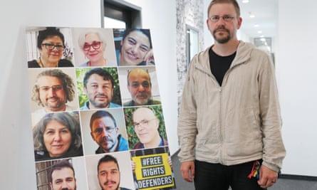 German human rights activist Peter Steudtner