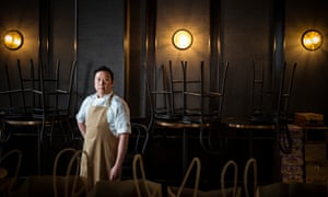 Chef and Tian38 owner Alan Chong.