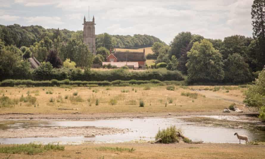 The river Kennet near Marlborough