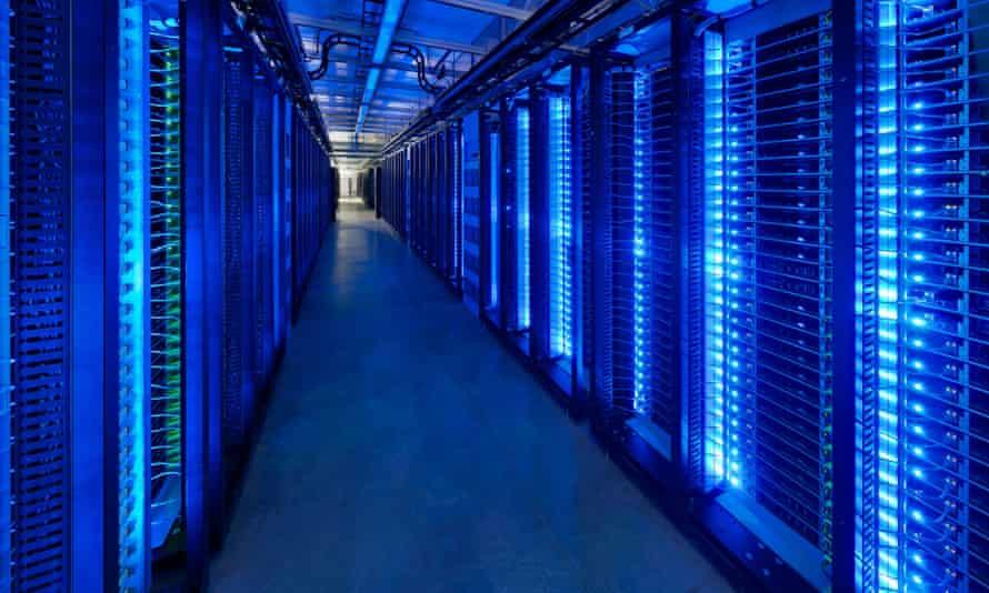 Facebook's data centre in Prineville, Oregon. The company has suffered a major breach.