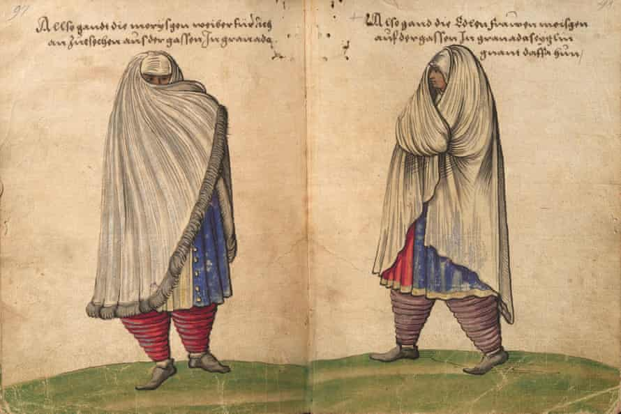 'Morisca in Street Dress' drawn by Christoph Weiditz (1529), from Authentic Everyday Dress of the Renaissance: All 154 Plates from the Trachtenbuch