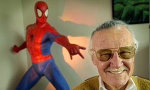 Stan Lee, 79, creator of comic-book franchises such as Spider-Man, The Incredible Hulk and X-Men, pictured in 2002.