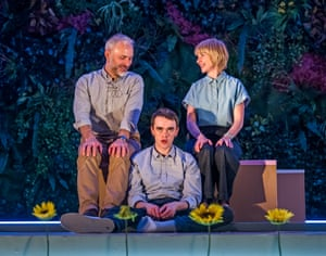 'Futuristic dazzle': Mark Bonnar, Brian Vernel and Jane Horrocks in Instructions for Correct Assembly at the Royal Court