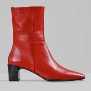 Red leather, £125, vagabond.com