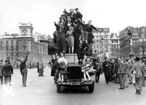 Londoners celebrate