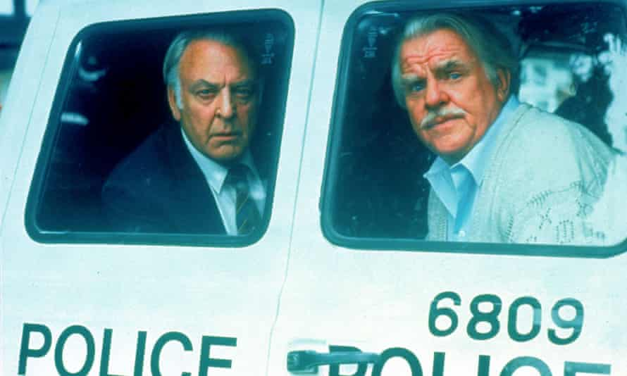 Windsor Davies, right, with Donald Sinden in Never the Twain, which was first aired in 1981.