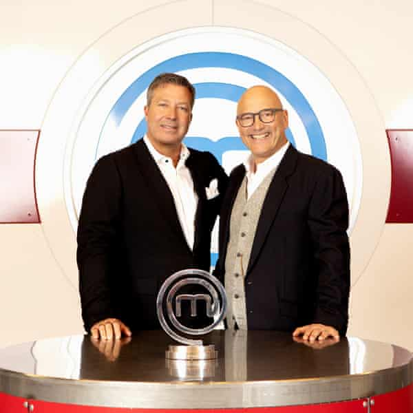 The hosts of BBC One's MasterChef, John Torode (left) and Gregg Wallace.