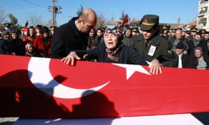 The grandmother of soldier who died in a suicide car bomb attack in Turkey in 2016.