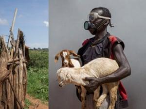 Tukara Doide, community animal health worker