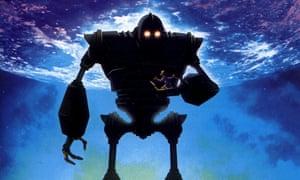 The Iron Giant, Brad Bird's 1999 film based on a children's novel by poet Ted Hughes.