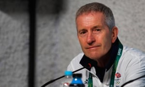 Great Britain swimming team's head coach Bill Furniss