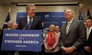 Bush and Graham on Friday.