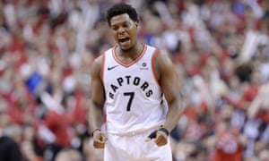 Kyle Lowry was removed from the game after foul trouble but Toronto went on to win an absorbing game