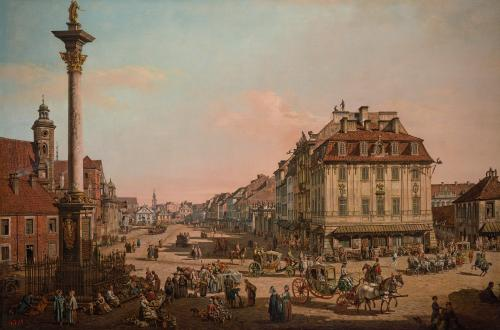Bernardo Bellotto's 18th century paintings of Warsaw were used to rebuild the city following its destruction in the second world war.