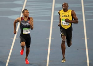 Usain Bolt brought joy and talent to the Games once again