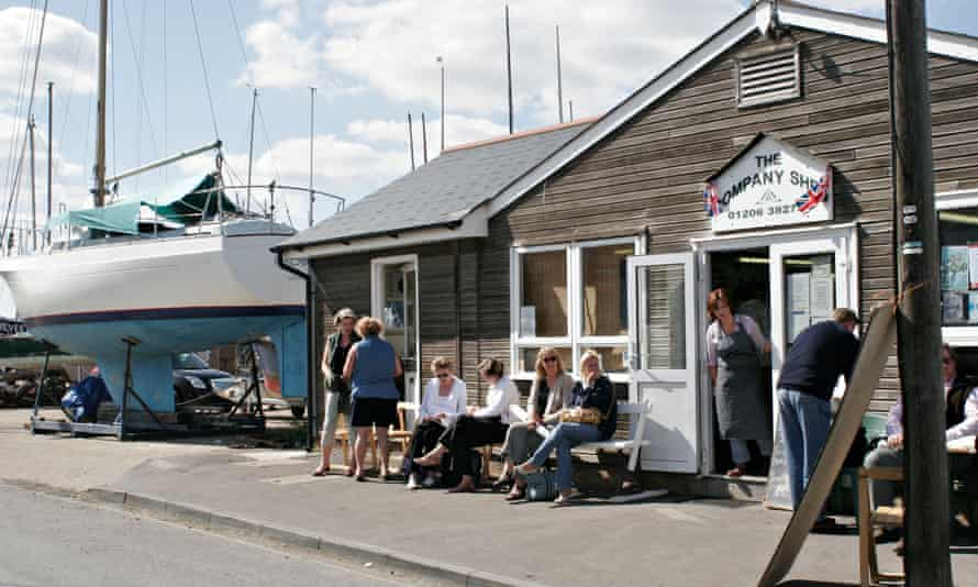 'What mattered was the oysters': the Company Shed on West Mersea, Essex.