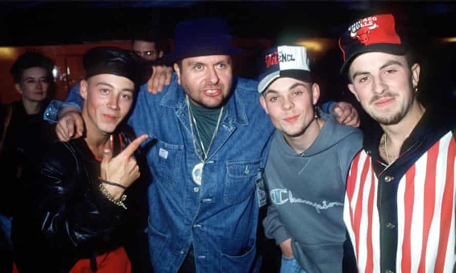 Watkins with East 17, 1993.