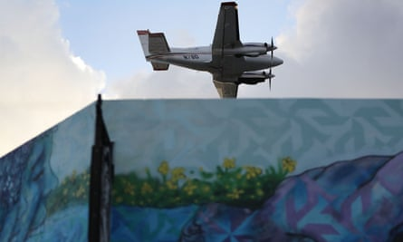 About 10 square miles have already been sprayed twice by planes carrying insecticide called Naled.
