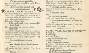 The Joy of Cooking inscribed Sylvia Plath 1954 and heavily marked up throughout