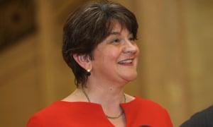 Arlene Foster, Northern Ireland's first minister.