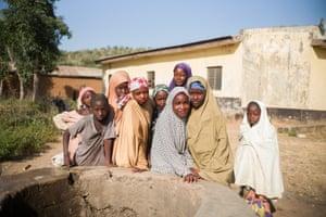 Children in Kudaru community