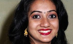 Savita Halappanavar died after she was refused a termination in an Irish hospital