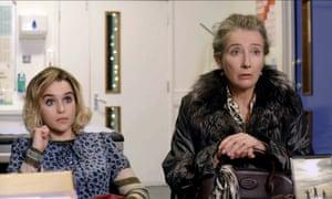 Emilia Clarke and Emma Thompson in Last Christmas.