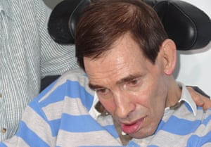 Tony Nicklinson, who failed in his attempt to be allowed an assisted death.